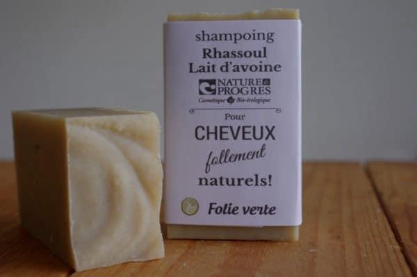 shampoing solide rhassoul avoine