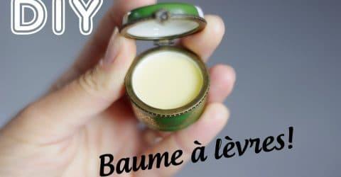 baume lèvres karité miel