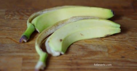 composter peaux de bananes