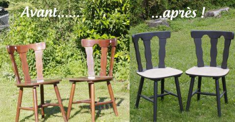 restaurer chaises en bois